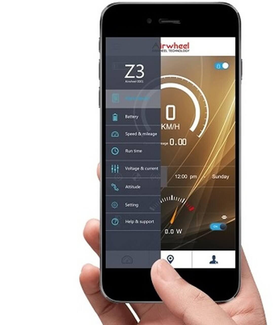 Airhweel Z3 aplikacja - jaką hulajnogę elektryczną kupić