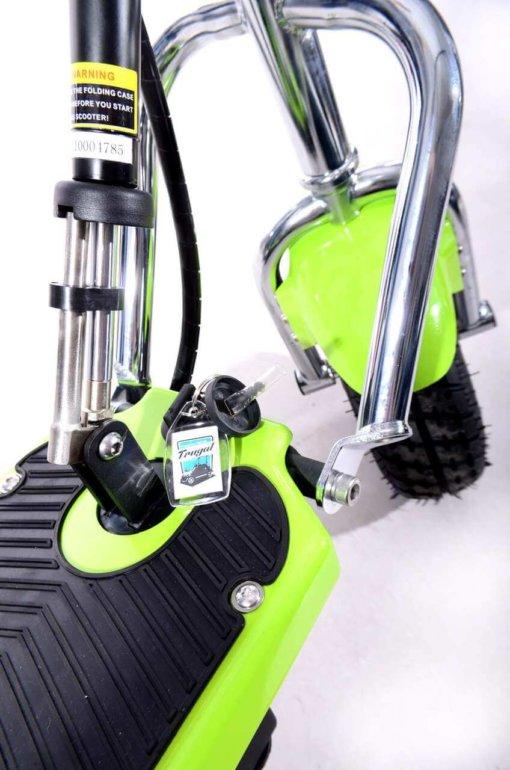 Hulajnoga elektryczna Frugal basic z siedziskiem skręt