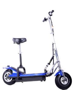 Hulajnoga elektryczna Frugal basic z siedziskiem niebieski