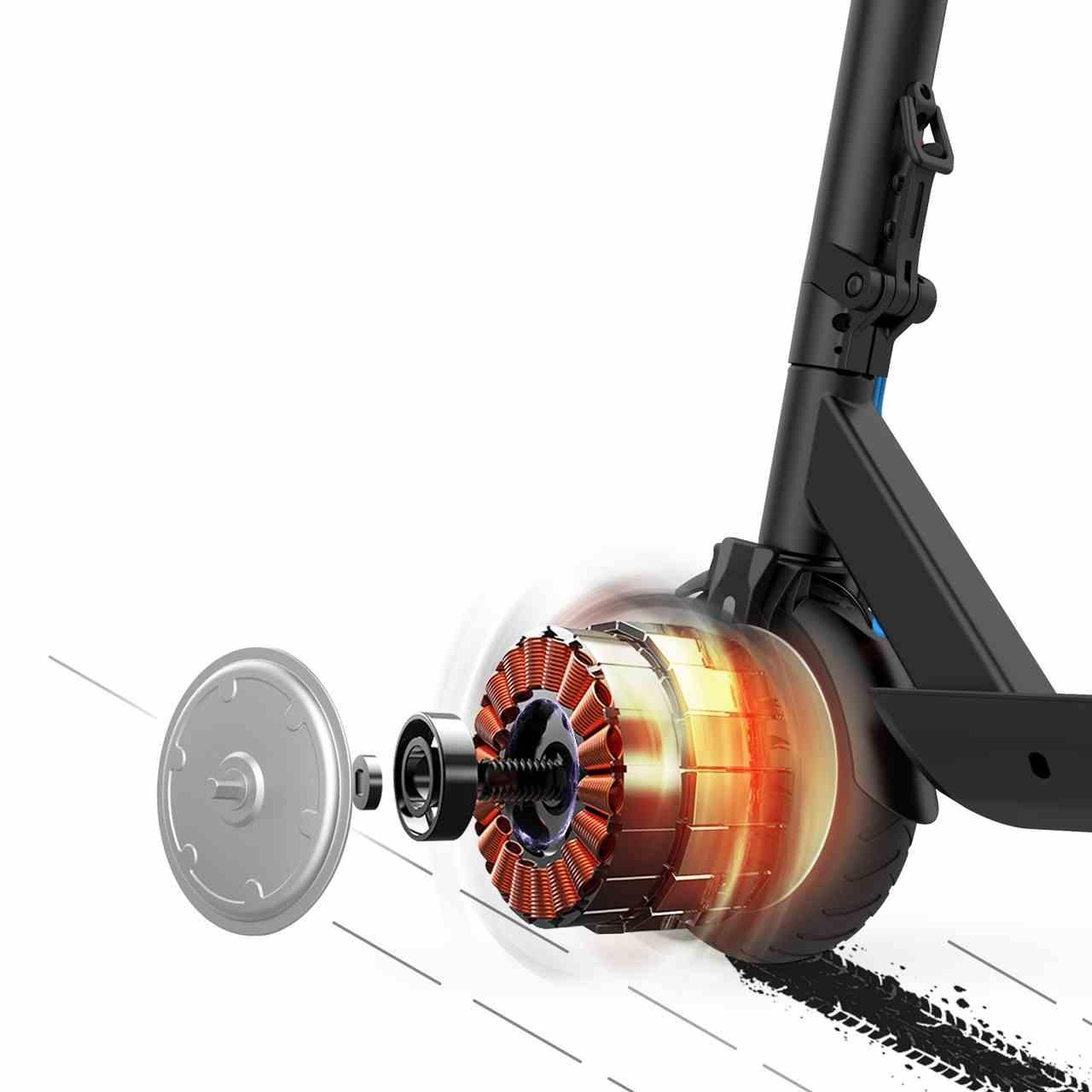 Hulajnogi Blaupunkt - Silnik i prędkość