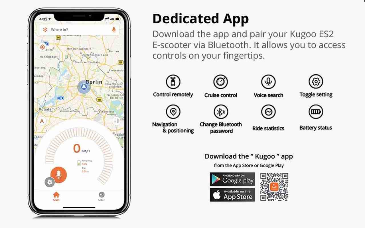 Hulajnogi od Kugoo - aplikacja Kugoo Mobility