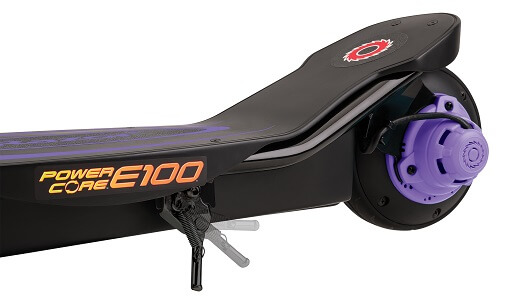 Hulajnoga elektryczna Razor E100 Power Core fioletowa
