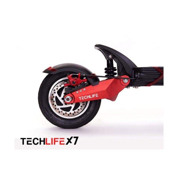 Hulajnoga elektryczna Techlife X7 tylnie koło