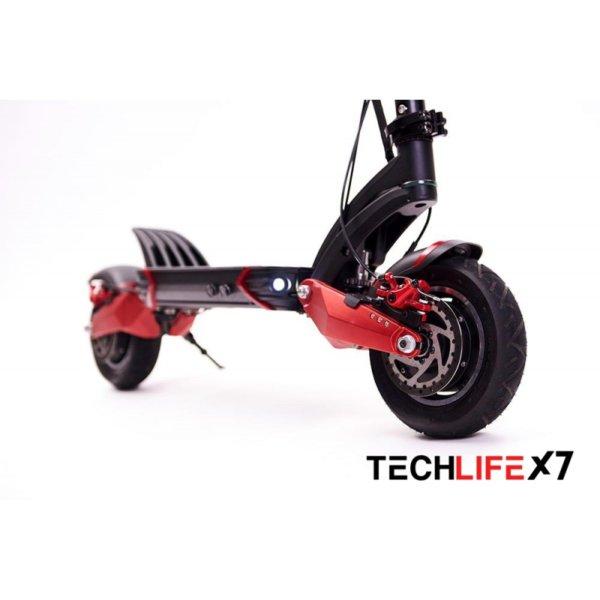 Hulajnoga elektryczna Techlife X7 przedni amortyzator