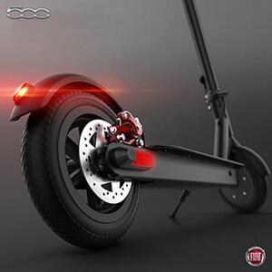 Hulajnogi elektryczne Fiat - silnik i prędkość