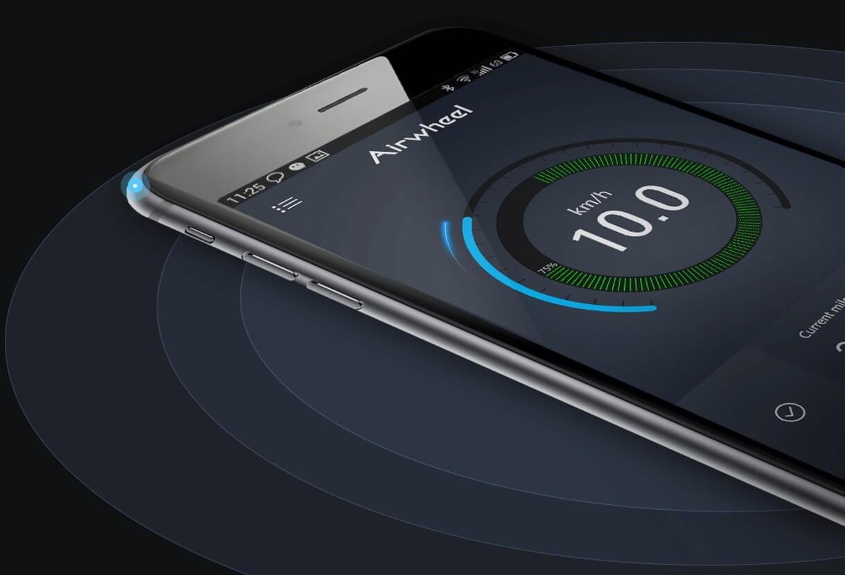 aplikacja airwheel z5s