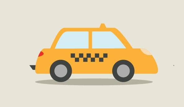 Hulajnoga elektryczna vs Taxi