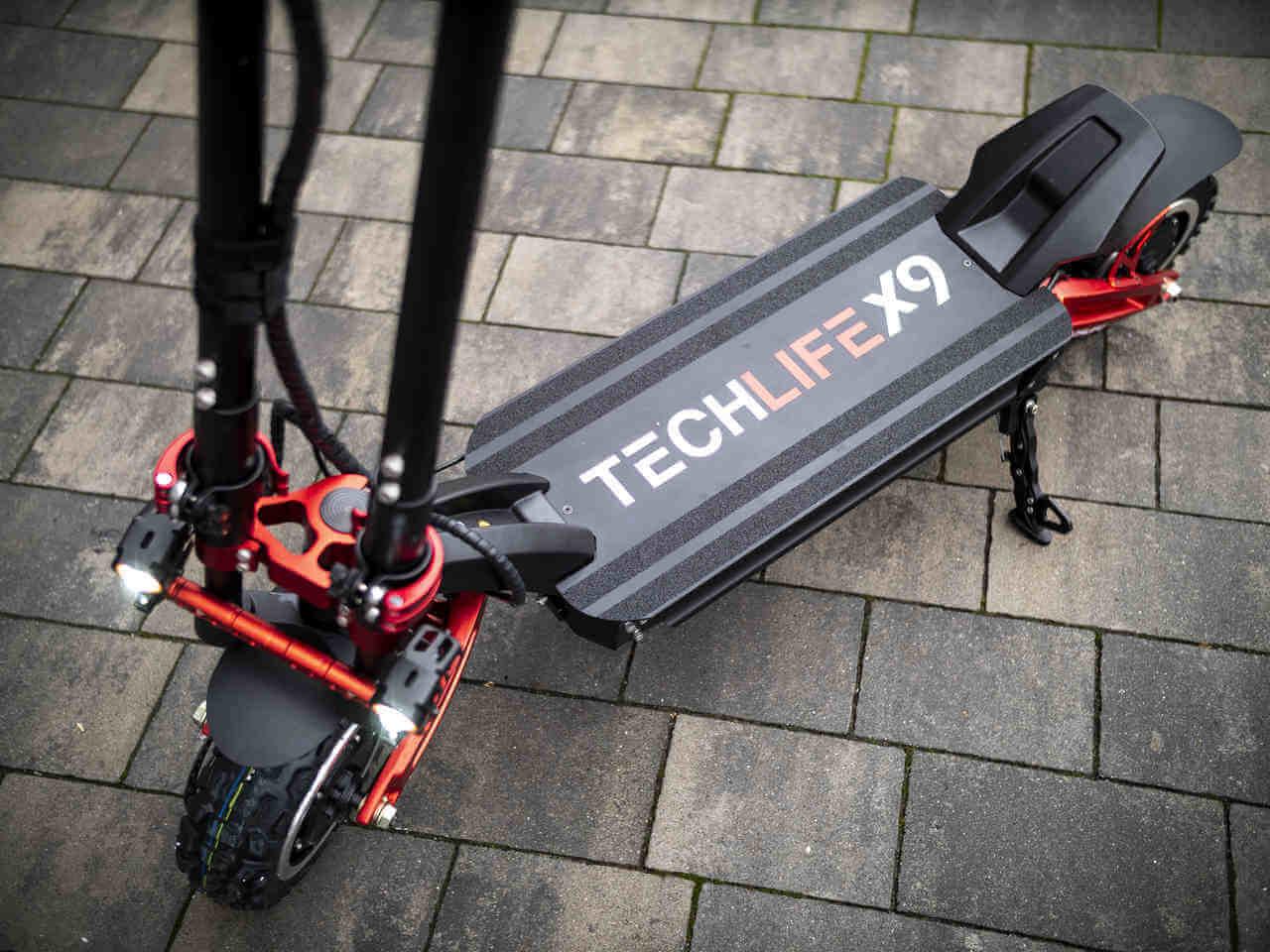 techlife x9 wytrzymała konstrukcja